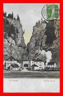 CPA LE LOCLE (Suisse)   Col Des Roches, Animé, Train à Vapeur, Hôtel Fédéral...A094 - NE Neuchatel