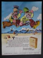 ORIGINAL 1972 MAGAZINE ADVERT FOR  BENSON @ HEDGES GOLD BOND CIGARETTES. - Sonstige