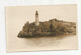 Cp, CARTE PHOTO , Post-card ,vierge, Phare Vieille Havane Cuba - Leuchttürme