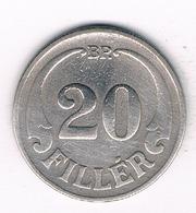 20 FILLER 1926  HONGARIJE /3292 - Hungary
