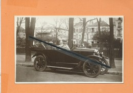 Carte Photo : A.Acquart , 45 Cours Marigny Vincennes - Telephone 47 -(auto , Voiture Ancienne ) - Vincennes