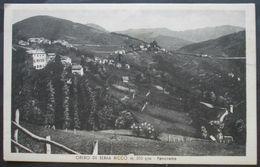 Cartolina Genova Orero Di Serra Riccò Panorama - Non Viaggiata - Genova