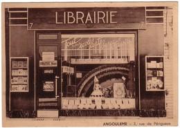 ANGOULEME - Librairie Nouvelle  Au N°7 Rue De Périgueux - Angouleme