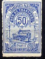 Sello Nº Colis Postaux Paris 1878 Nº 2 - Parcel Post