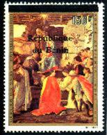 Bénin 1996  ( Adoration Des Mages-Boticcelli  - 150 F )  ** Luxe   TRES RARE - Bénin – Dahomey (1960-...)