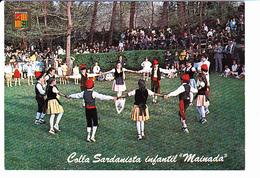 "VALLS D'ANDORRA, Colla Sardanista Infantil ""Maidana"", Danse Folklorique, Enfants, Editions Escudo De Oro 1990 Environ - Andorre"