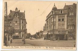 9Dp-956: ALBERT 78 LA PANNE Rue J.Dumont Et Av. De La Mer - De Panne Zeelaan En J.Dumontstraat: DELHAIZE-winkel.. - De Panne