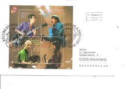 Chanteurs - Rolling Stones ( FDC D'Autriche De 2003 à Voir) - Chanteurs