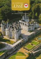 Dépliant Touristique : Château D' Ussé, Rigny-Ussé (37, Indre-et-Loire) 3 Volets, Recto-Verso (14,5 Cm Sur 21 Cm) - Dépliants Touristiques