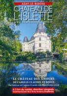 Dépliant Touristique : Château De L'Islette, Azay-le-Rideau (37, Indre-et-Loire) 3 Volets, Recto-Verso, 15 Cm Sur 21 Cm - Dépliants Touristiques
