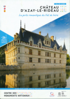 Dépliant Touristique : Château D' Azay-le-Rideau (37, Indre-et-Loire) 4 Volets, Recto-Verso (15 Cm Sur 21 Cm) - Dépliants Touristiques