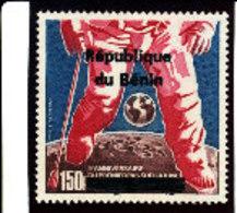 Bénin 1996 ( L'Homme S/la Lune  150F  )  ** Luxe  RARE - Bénin – Dahomey (1960-...)