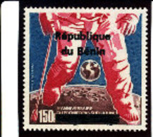 Bénin 1996 ( L'Homme S/la Lune  150F  )  ** Luxe  RARE - Benin – Dahomey (1960-...)