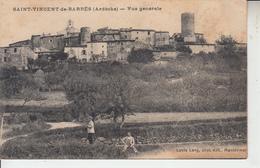 SAINT VINCENT DE BARRES ( Ardèche )  - Vue Générale  PRIX FIXE - Sonstige Gemeinden