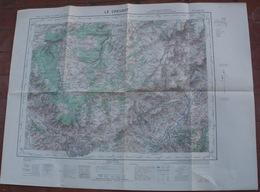 Carte IGN  Au 50.000e (type 1922) LE CREUSOT - Cartes Topographiques