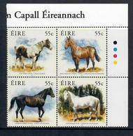 IRLANDA 2011  - FAUNA CAVALLI - SERIE COMPLETA - MNH** - 1949-... Repubblica D'Irlanda