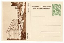 10 DINARA GREEN, AROUND 1956, NOVI SAD, SERBIA, YUGOSLAVIA, POSTAL STATIONERY, NOT USED - Serbia