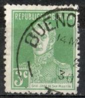Argentina 1923 - Josè De San Martin Ufficiale Militare Military Officier - Argentina