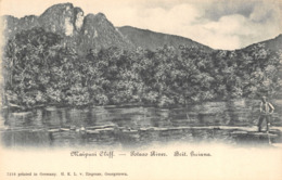 R135240 Maipuri Cliff. Potaro River. Brit. Guiana. H. K. L - Cartes Postales