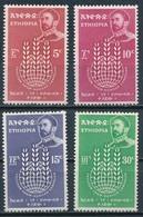°°° ETHIOPIA - Y&T N°408/11 - 1963 MNH °°° - Etiopia
