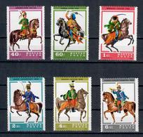 UNGHERIA 1978  - UNIFORMI USSARE E  CAVALLI - SERIE COMPLETA - MNH** - Ungheria