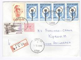 Enveloppe Aangetekend - Recommandé - Registered - Naar Antwerpen Van POST  B.P.S. 37 4090 - Lettres & Documents