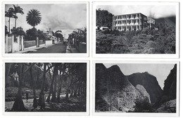 ILE De La RÉUNION - Lot De 6 CPA-PHOTOS - Années 1950 - Réunion