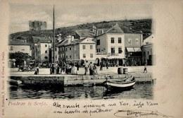 Senj 1901. Circulated - Croatia - Croatie