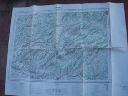 Carte De FRANCE   Au 1/100 000 MOISSAC - Cartes Topographiques