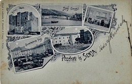 Senj 1899. Circulated - Croatia - Croatie