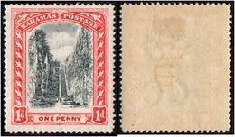 Bahamas. 1901 -1903 Queen's Staircase, Nassau. 1p. SC 33. SG 58. MH - 1859-1963 Kronenkolonie