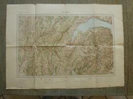 Carte Annecy 73 Savoie - Cartes Topographiques