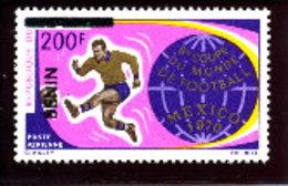 Bénin 1996  ( Mexico - Foot 1970 200F)  ** Luxe  TRES RARE - Bénin – Dahomey (1960-...)