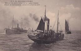 BOULOGNE SUR MER        BATEAUX DE PECHE HOLLANDAIS.... FRANCISCUS ANTONIUS - Pesca
