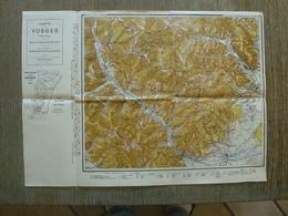 Carte Vosges Grand Ballon St Amarin Oderen Soultz Rimbach Kruth Mollau  88 Vosges - Cartes Topographiques