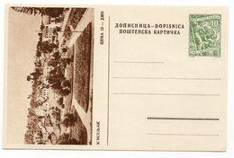 10 DINARA GREEN, AROUND 1956, KISELJAK, BOSNIA, YUGOSLAVIA, POSTAL STATIONERY, NOT USED - Bosnia And Herzegovina