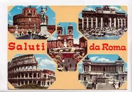 Saluti Da Roma, 1976 Used Postcard [23159] - Roma (Rome)