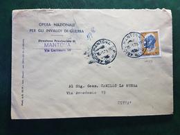 (30616) STORIA POSTALE ITALIA 1973 - 6. 1946-.. Repubblica