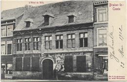 Braine-le-Comte  *  L'Hotel De Ville (Pub. Byrrh) - Braine-le-Comte