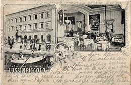Mali Losinj 1906. Circulated - Croatia - Hotel De La Ville - Croatia