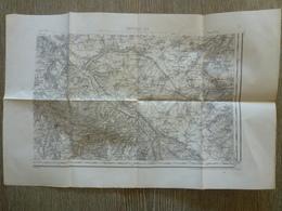 Carte Abbeville  80 Somme Rambures  Bouillancourt Millebosc Fresnoy - Cartes Topographiques