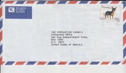 Transkei Airmail Cover To USA, Stamps Birds  (A-2335) - Transkei