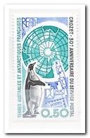 Frans Antarctica 1991, Postfris MNH, 30 Years Postal Service On The Island Of Crozet, Penguin, Birds - Franse Zuidelijke En Antarctische Gebieden (TAAF)