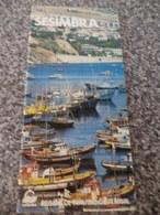 PANFLETO PUBLICITÁRIO SESIMBRA - PORTUGAL - Tourism Brochures
