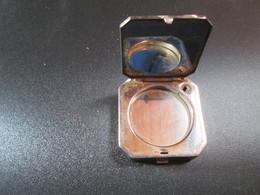 Poudrier Avec Miroir Et 2 Compartiments . Coty Paris - Accessoires