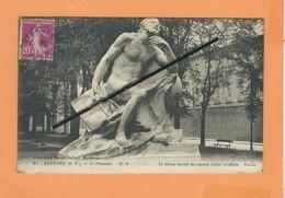 CPA - Bayonne -( B.P. ) - Le Penseur  -( Le Silence éternel Des Espaces Infinis M'effraie ) - Bayonne