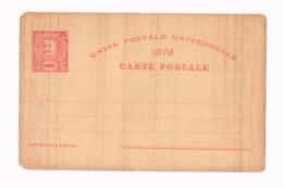 Entier Postal à 25 Reis. - Guinée Portugaise