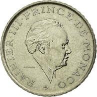 Monnaie, Monaco, Rainier III, 2 Francs, 1981, TTB, Nickel, Gadoury:MC151.2 - 1960-2001 Nouveaux Francs