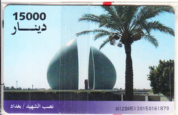 IRAQ - Martyr Memorial, ITPC Telecard 15000 IQD(No 7), Chip GEM3.3, Mint - Iraq