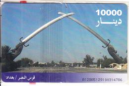 IRAQ - Victory Arc, ITPC Telecard 10000 IQD(No 6), Chip GEM3.3, Mint - Iraq